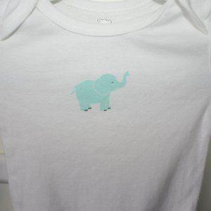 5/$20 Unisex Koala Baby elephant onesie 12 months